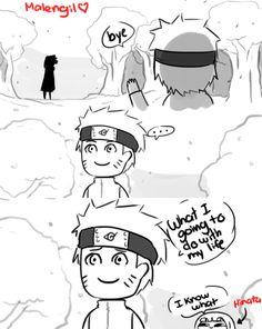 Naruto Shippuden 699 parody fan comic by malengil. Page 10