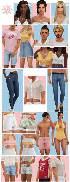 is creating Custom Content for The Sims 4 Sims 4 Cc Packs, Sims 4 Mm Cc, My Sims, Sims 4 Male Clothes, Sims 4 Clothing, Clothes For Women, Clothing Sets, Maxis, Muebles Sims 4 Cc