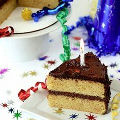 Fluffy and soft vanilla bean yellow cake. A classic birthday cake, yet grain/gluten free!  12 eggs, separated   2/3 cup honey  1 cup coconut flour   1 teaspoon baking soda 1/2 teaspoon vanilla powder
