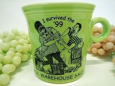 Ohartruese Fiesta® Mug 1999 FACTORY ONLY Special Mug - Only 500 Produced!!! | WorthPoint