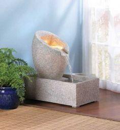 An Interior Water Fountain