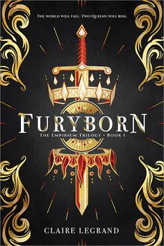 #CoverReveal Furyborn (The Empirium Trilogy, #1) by Claire Legrand
