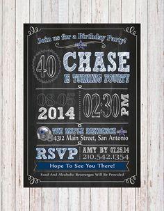 Dallas Cowboys NFL Custom Chalk Board Party By KVinvites On Etsy 999 49ers Birthday