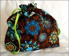 hobo bag   #bags #custom #accessories #sewing #gifts #drawstring_bag