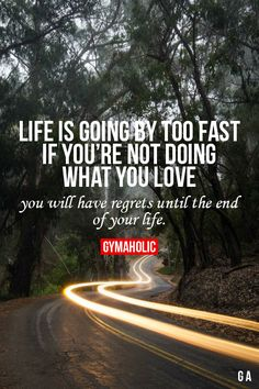 Life Is Going By Too Fast Fitness Made Simple -> http://www.gymaholic.co…