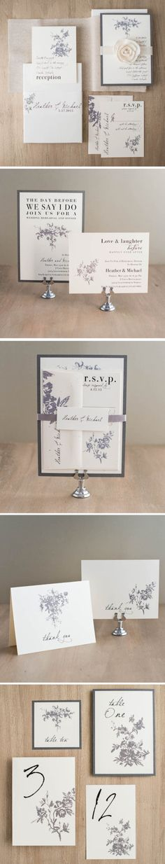 Completely customize these wedding invitations to match your wedding colors & style. Explore more at www.beaconln.com