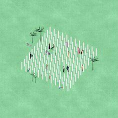 12 maneras de representar atmósferas arquitectónicas usando collage,Proyecto: Architectural Follie. Imagen Courtesía de Fala Atelier