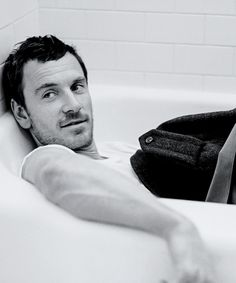 Michael Fassbender  photographed by Bruce Weber