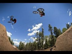 The progression of the biggest BMX dirt jump contest of 2013 - YouTube