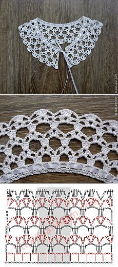 Nina: crochet lace collar
