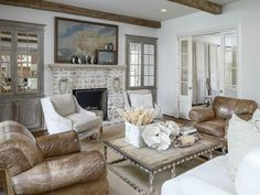gorgeous living room - French Country House Tour - Its Overflowing