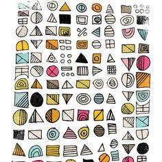 HIEROGLYPHS  Art Print