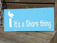 ITS a SHORE Thing  Beach Sign STENCL Available por SuperiorStencils