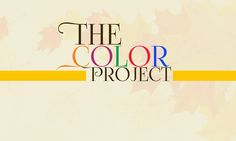 THE COLOR PROJECT - identification design