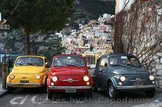Fiat 500 a Positano