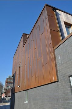 Standing Seam Copper Panels Google Search Lyden