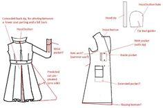 Sherlock Coat quick outline by ~Pacifisticmatt on deviantART