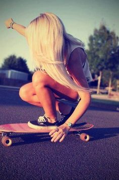 My best friend loves to skate board! Me and her skate board together love it