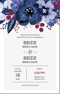Design wedding invitations with Vistaprint! With hundreds of wedding invitation templates to choose from, there's something to suit all wedding themes and styles. Design your wedding invites now! Floral Wedding Invitations, Wedding Invitation Templates, Mesh Banner, Promotional Giveaways, Photo Logo, Return Address Labels, Disney Wallpaper, Wedding Themes, Are You The One