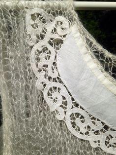 Design by kaarin h. Silk/mohair/old fabric