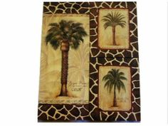 Palm Trees 3 Piece Canvas Wall Art Accent Your Tropical Decor With This 3  Piece Wall