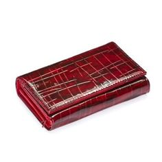 Red Patent Bamboo Wallet SilverHooks. $9.99. Soft Feel. Exotic Patent Design. Tri-Fold Design. Sturdy Form. Faux Patent Leather