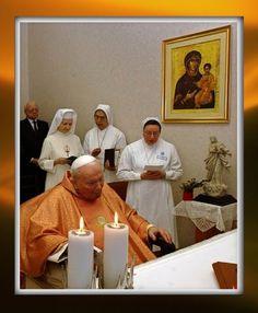 His last laetare Sunday, 2005