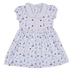 Kissy Kissy - Navigator Print Dress with Collar - Toddler www.atterdagkids.com