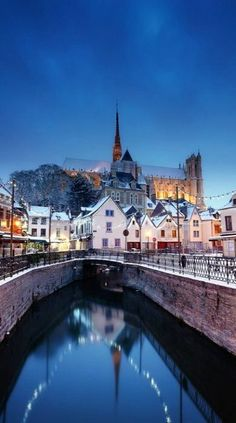 The city of Amiens  ~ is located just 75 miles north of Paris in northern France.