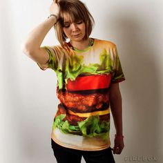33 Examples of Fast Food Fashion - From Fancy Fast Food Button-Ups to Juicy Hamburger T-Shirts (TOPLIST)