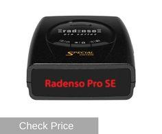 radenso pro se high performing radar detector