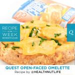 Quest Nutrition Open-Faced Omelette