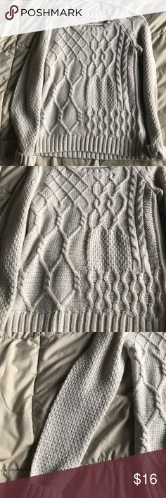 Cream sweater Super soft cream sweater/ pair with any jeans or skirts, you simply cannot go wrong with this item! Execellent condition! Can model this just comment! Mossimo Supply Co. Sweaters Crew & Scoop Necks