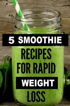 Weight Loss Smoothies - These are 5 Weight Loss Smoothies, people have been searching for weight loss smoothies fat burning - Weight Loss Meals, Weight Loss Smoothie Recipes, Weight Loss Drinks, Easy Weight Loss, Healthy Weight Loss, Lose Weight, Healthy Breakfast For Weight Loss, Lose Fat, Diet Recipes