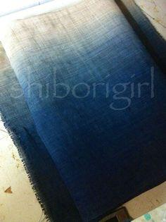 shibori on hemp  http://shiborigirl.files.wordpress.com/2012/09/indigo-on-hemp1.jpg