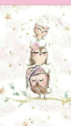 49 super Ideas for baby cute wallpaper animals Owl Wallpaper, Wallpaper Backgrounds, Iphone Wallpaper, Animal Wallpaper, Cute Images, Cute Pictures, Animal Drawings, Cute Drawings, Dibujos Cute