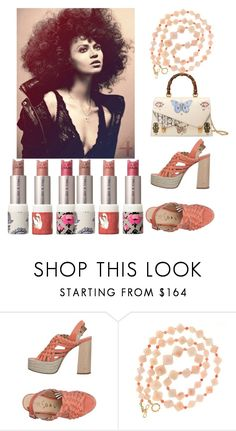 """""""Back Door Open"""" by psalmblg ❤ liked on Polyvore featuring Ouigal, Valentin Magro, Gucci and Paul & Joe"""