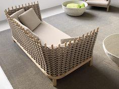 Garden sofa Wabi Collection by Paola Lenti | design Francesco Rota
