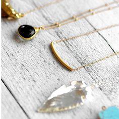 TUBE  14k gold filled necklace by koshikira on Etsy, $59.00