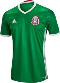 2016 17 adidas Kids Mexico Home Jersey. Available at SoccerPro Adidas Soccer  Jerseys 098db7f65