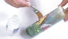 Como hacer velas decoradas con paisajes ~ Mimundomanual Garden Trowel, Garden Tools, Creative Kids, Cactus, David, Design, Porta Velas, Painting Veneer, Xmas