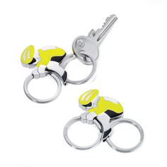On Tour Keyring Yellow now featured on Fab.
