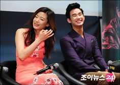 [June 12th 2012] Kim Soo Hyun (김수현) at The Thieves (도둑들) Press Conference #21 #KimSooHyun #SooHyun #JunJiHyun #TheThieves #Dodookdeul