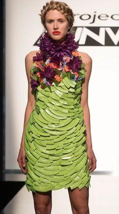 Project Runway Season 15 Unconventional Dress.