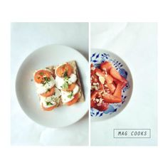 light and great! #mozzarella #tomatoes #strawberries #extremelyyummy #delicioussummerfood #summer #magcooks
