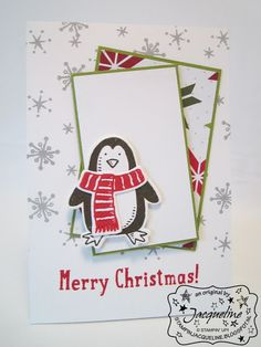 Stampin' Up! by Stampin Jacqueline: Snow Place Pinguïn