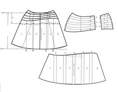 skirt H92 W70 L60