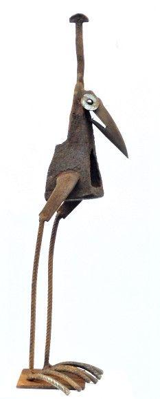 Vögel Online Shop – Chris Kircher Bird Sculpture, Animal Sculptures, Recycled Yard Art, Animals With Horns, Welding Tips, Metal Birds, Scrap Metal Art, Plasma Cutting, Small Birds
