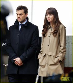 Dakota Johnson & Jamie Dornan Film Another 'Fifty Shades Darker' Kissing Scene!