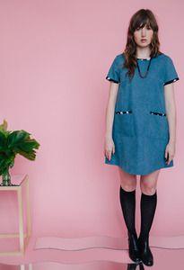 Dusen Dusen - Denim Kate Dress